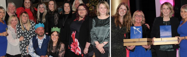 End of year awards for Jane Lewis Nursing Agency