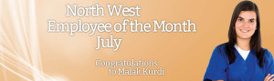 North West Employee of the Month for July