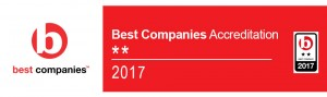Jane Lewis Receives 2 Star Accreditation from Best Companies
